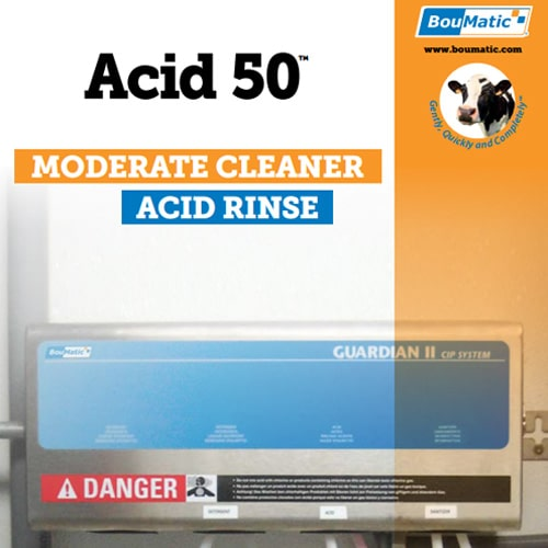 Acid 50 designed for moderate cleaning conditions