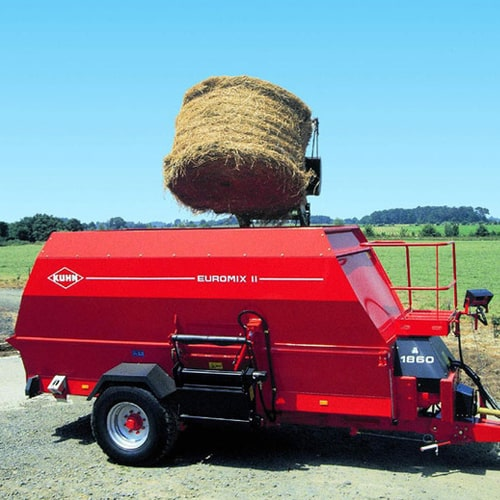 Buy online KUHN Euromix II 1460 Flexidrive. machinery designed to produce mixed rations based on long-fibre fodder