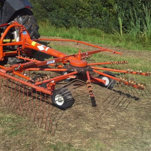 Buy online KUHN GA 300 GM Rake, Agricultural machinery having rakes produces fluffy and faster drying windrows