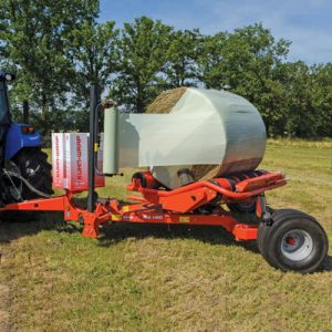 Buy online Kuhn Wrapper RW 1410. Agricultural machinery for self-loading round bale wrapper