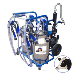 Turkish milking machine Double Cluster Double Bucket for cows