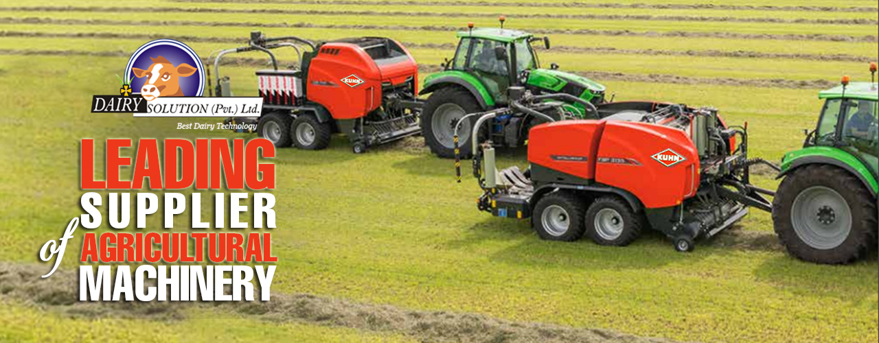 Agricultural machinery for farms