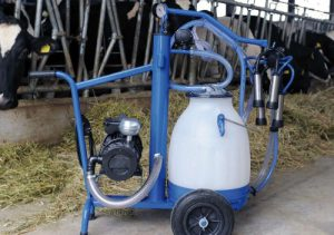Interpuls mobile milking machine